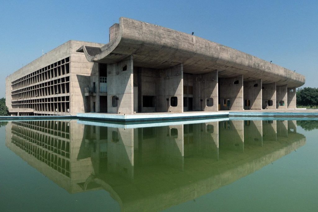 The Architectural Work of Le Corbusier, Chandigarh