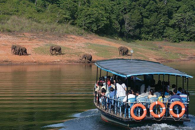 Boat Safari Periyar