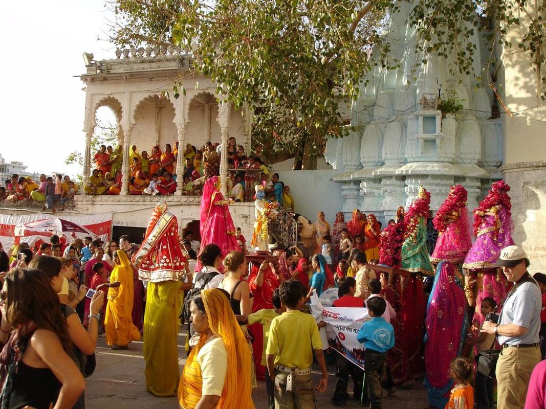 Teej Festival Celebration Jaipur