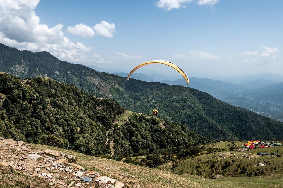 Bir Billing Paragliding, Himachal Pradesh