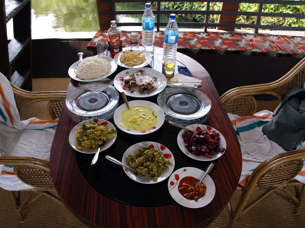 Houseboat Meal Kerala