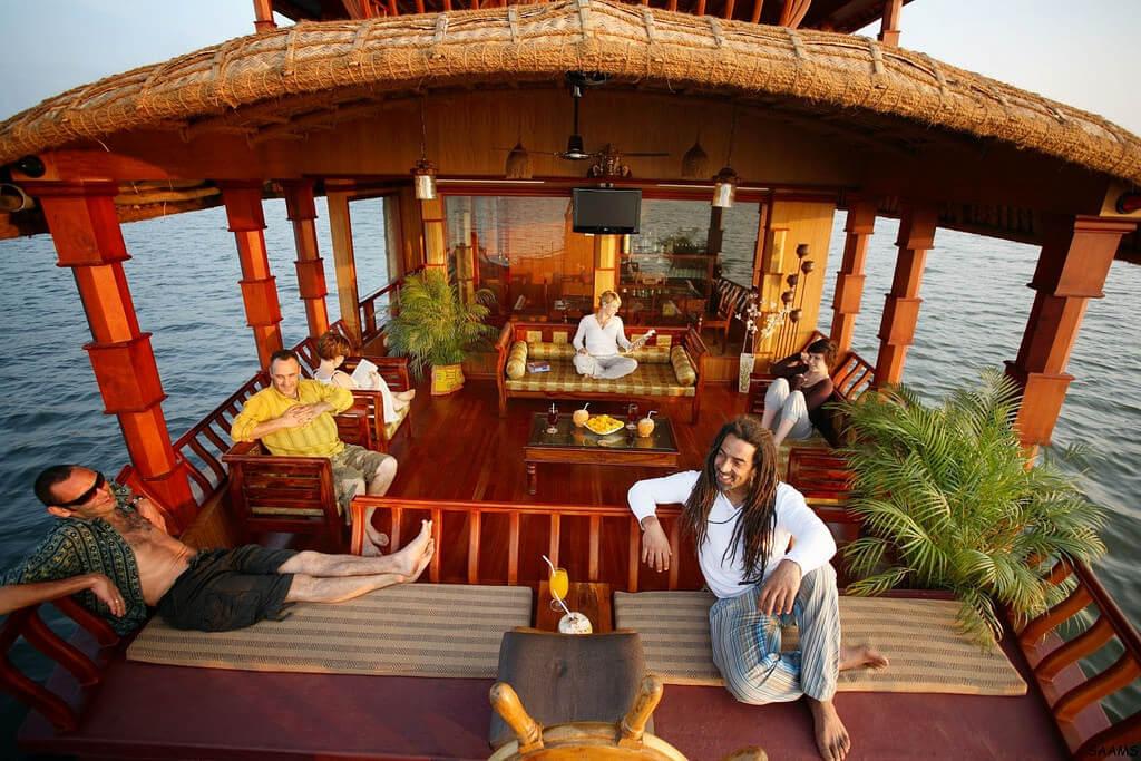 Houseboat Sundecks in Kerala