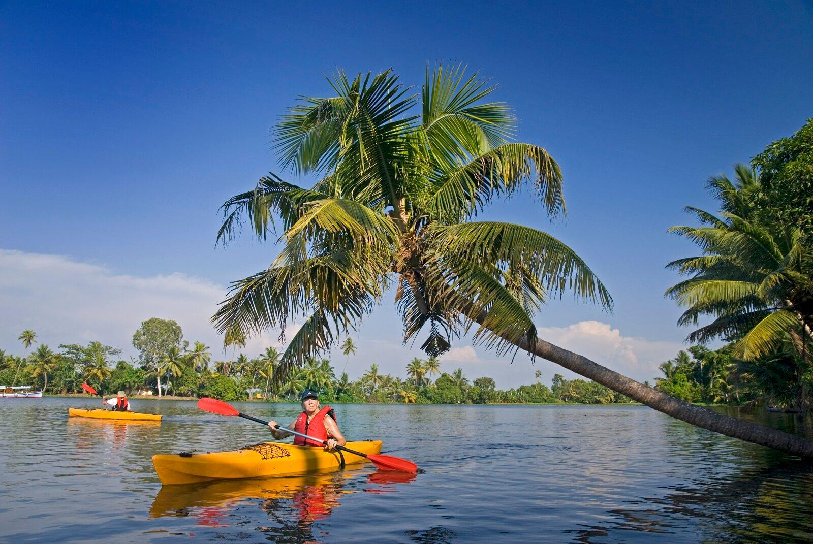 Kayaking, Kerala