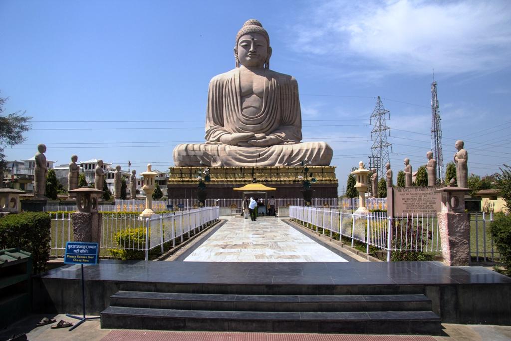 Giant Buddha Statue, Bodhgaya