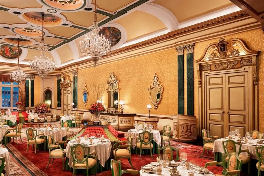 Dining at Rambagh Palace