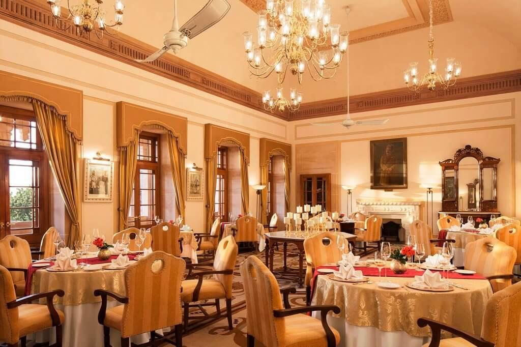 Dining at Umaid Bhawan Palace