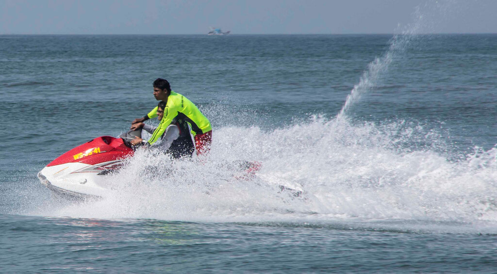Jet Skiing Goa