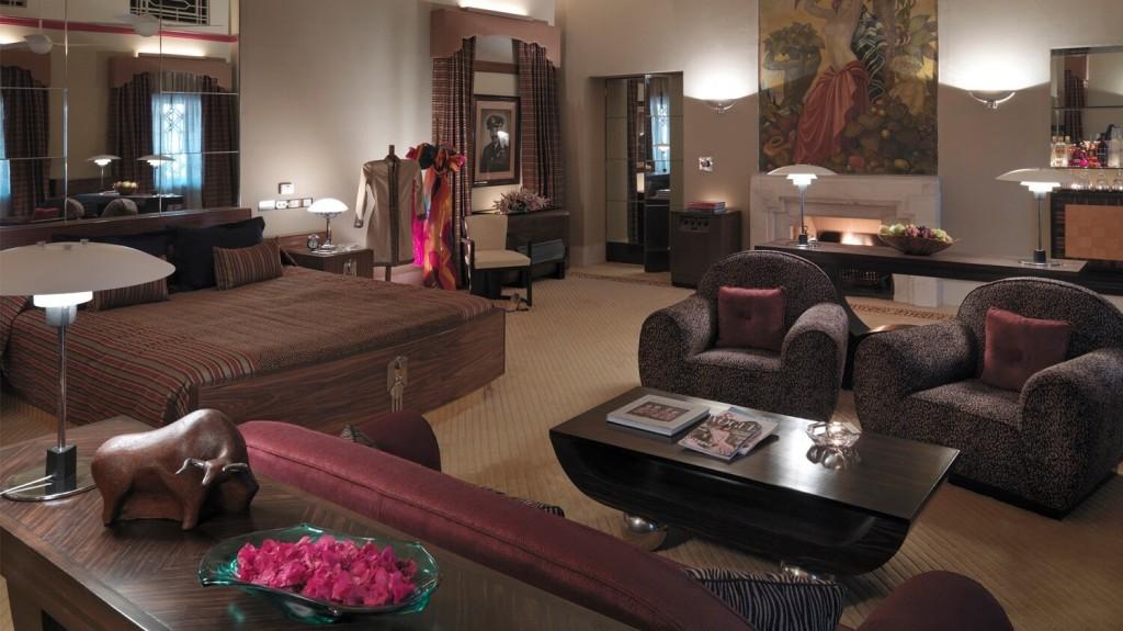 Maharaja Suite Bedroom at Taj Umaid Bhawan Palace