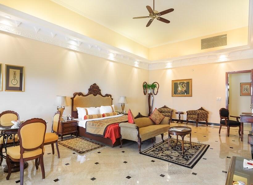 Maharani Suite at Lalit Laxmi Niwas Palace