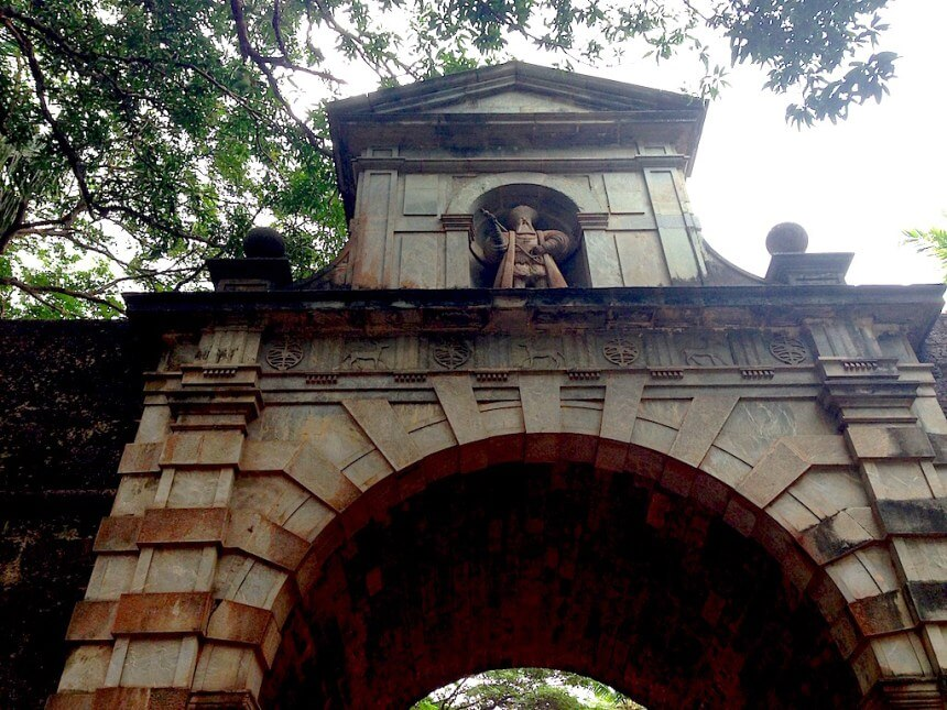 Viceroy's Arch in Old Goa