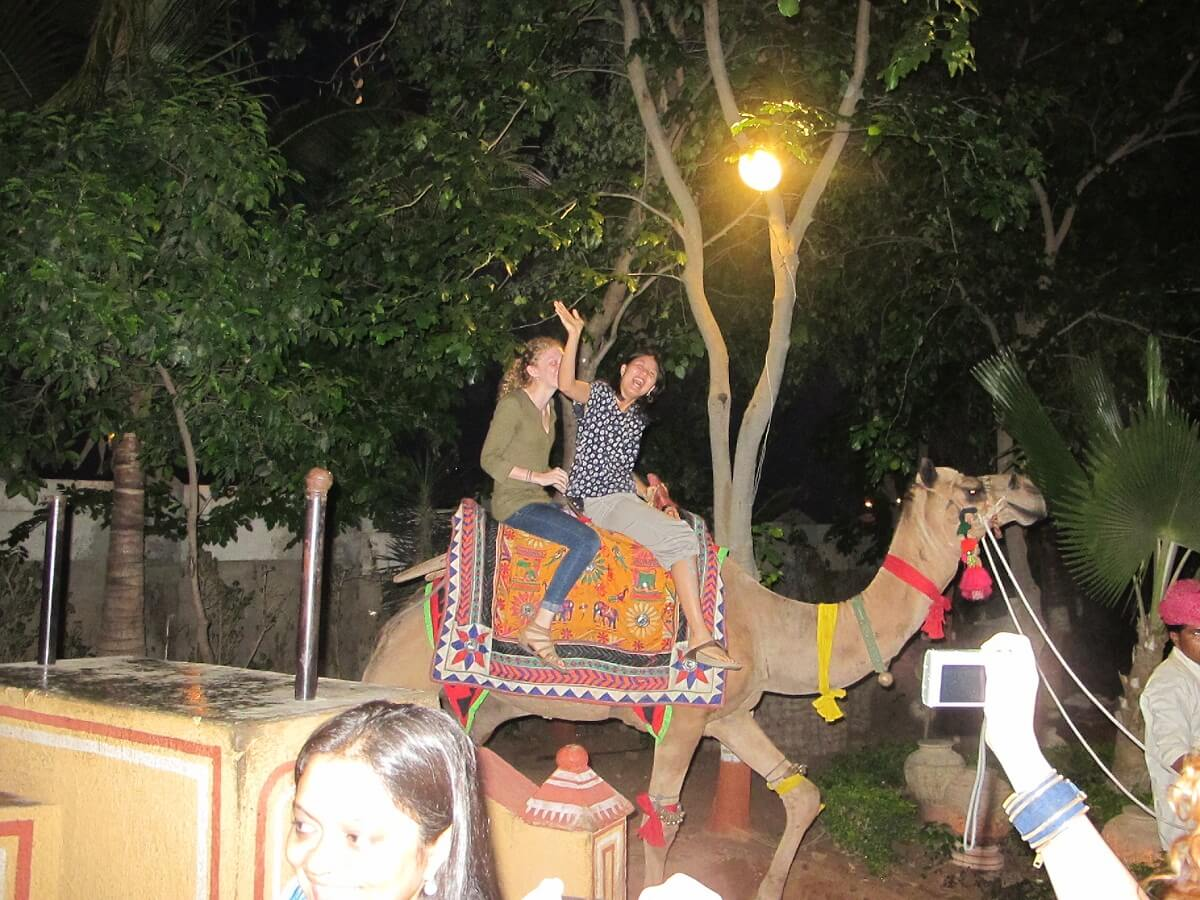 Camel Riding Chowki Dhani