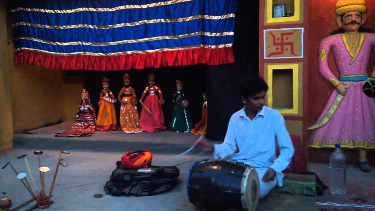 Puppet Show Chokhi Dhani Rajasthan Culture
