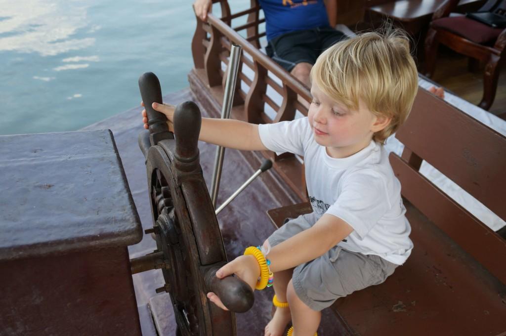 Houseboat Kerala with Kids
