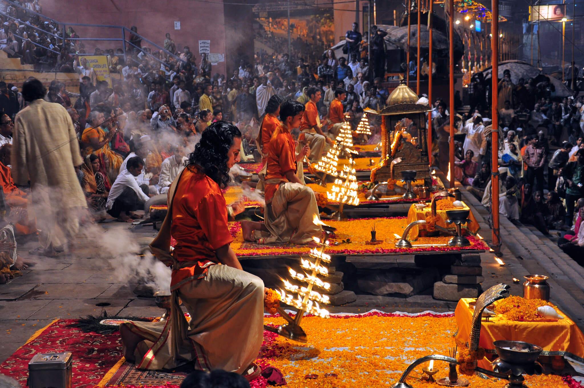 Varanasi Morning Arti