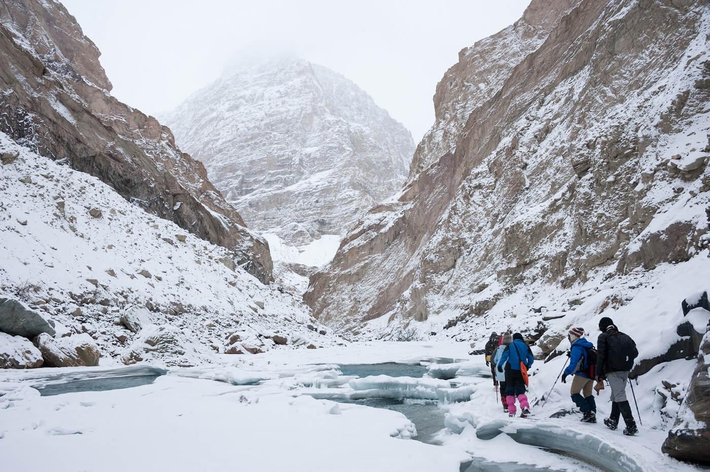 Frozen Zanskar River Trek Ladakh