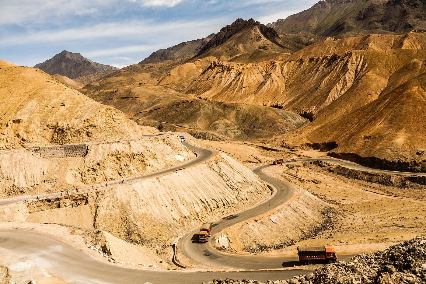 Mountain Passes Ladakh