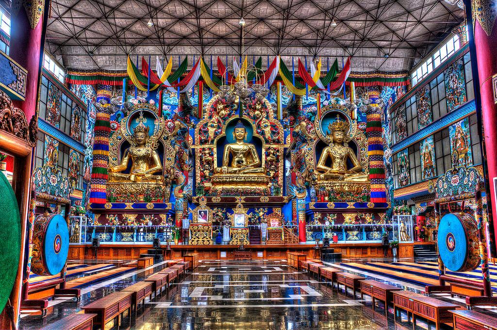 Namdroling Nyingmapa Monastery, Bylakuppe
