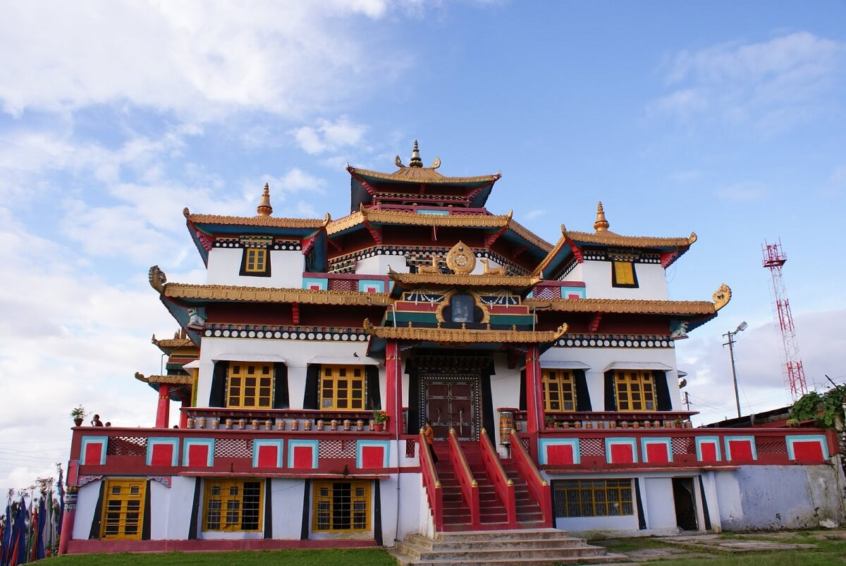 Zang Dhok Palri Phodang Monasteries Kalimpong