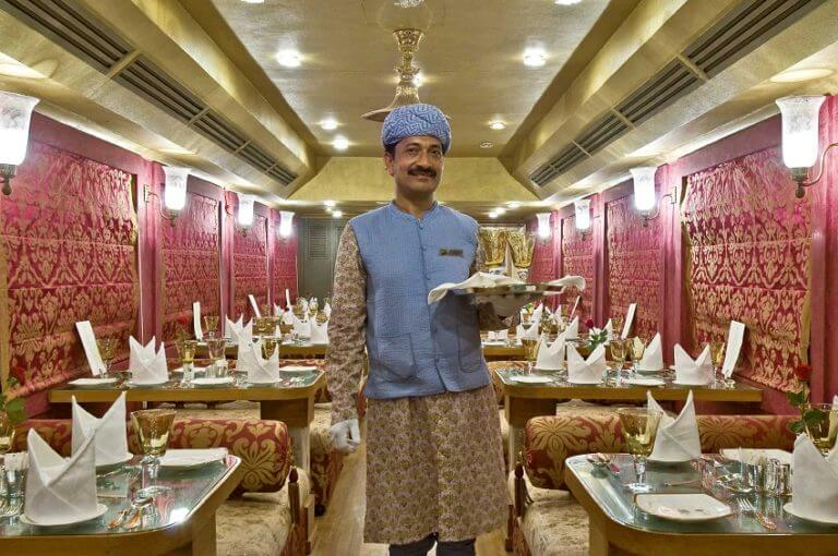 Maharani Restaurant Palace on Wheels