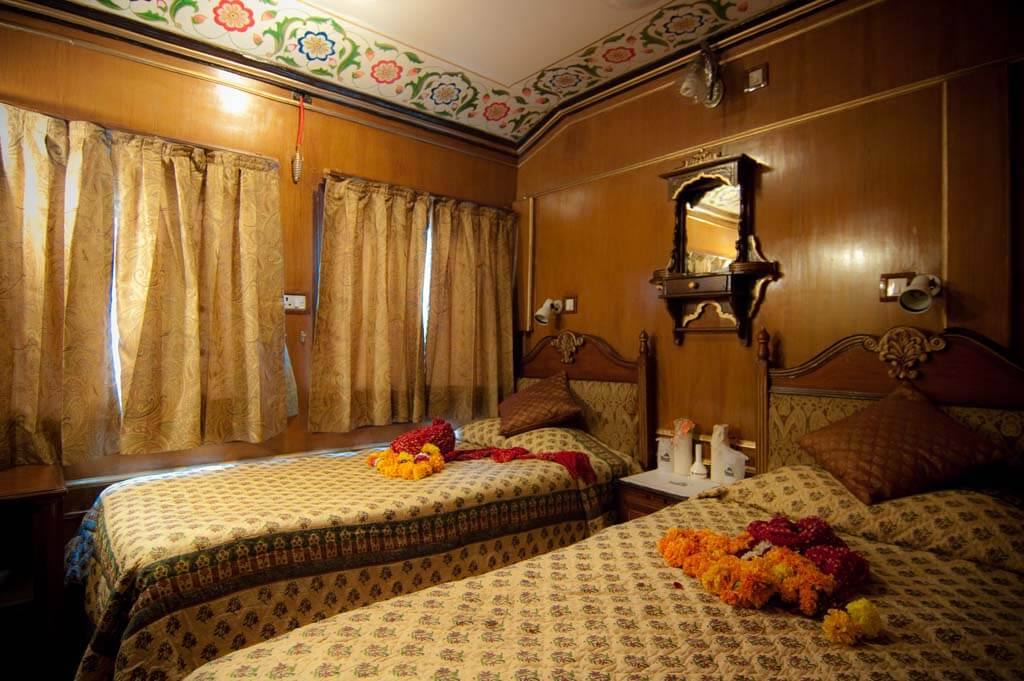 Palace on Wheels Bedrooms