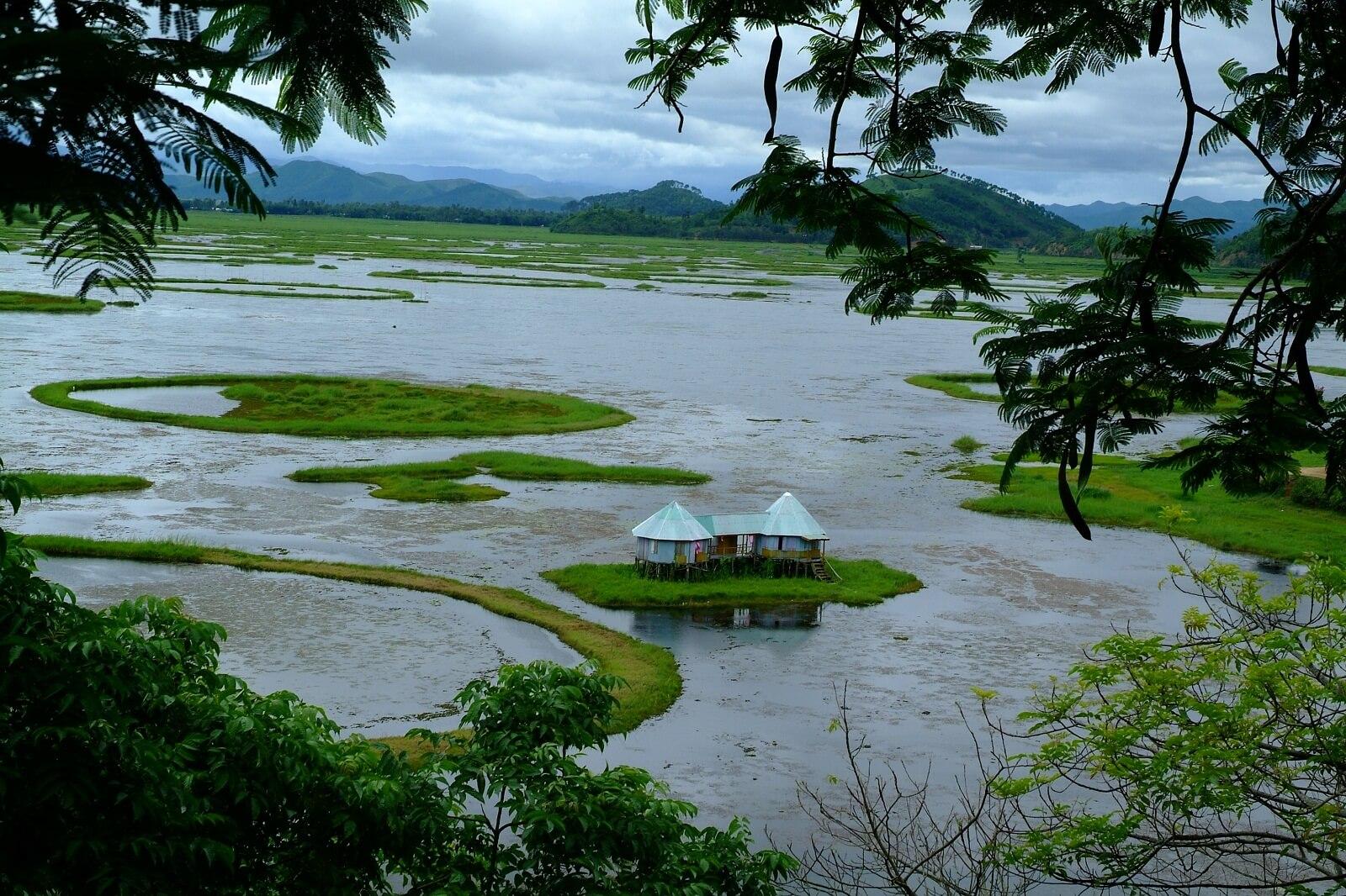 Floating Lake, Manipur