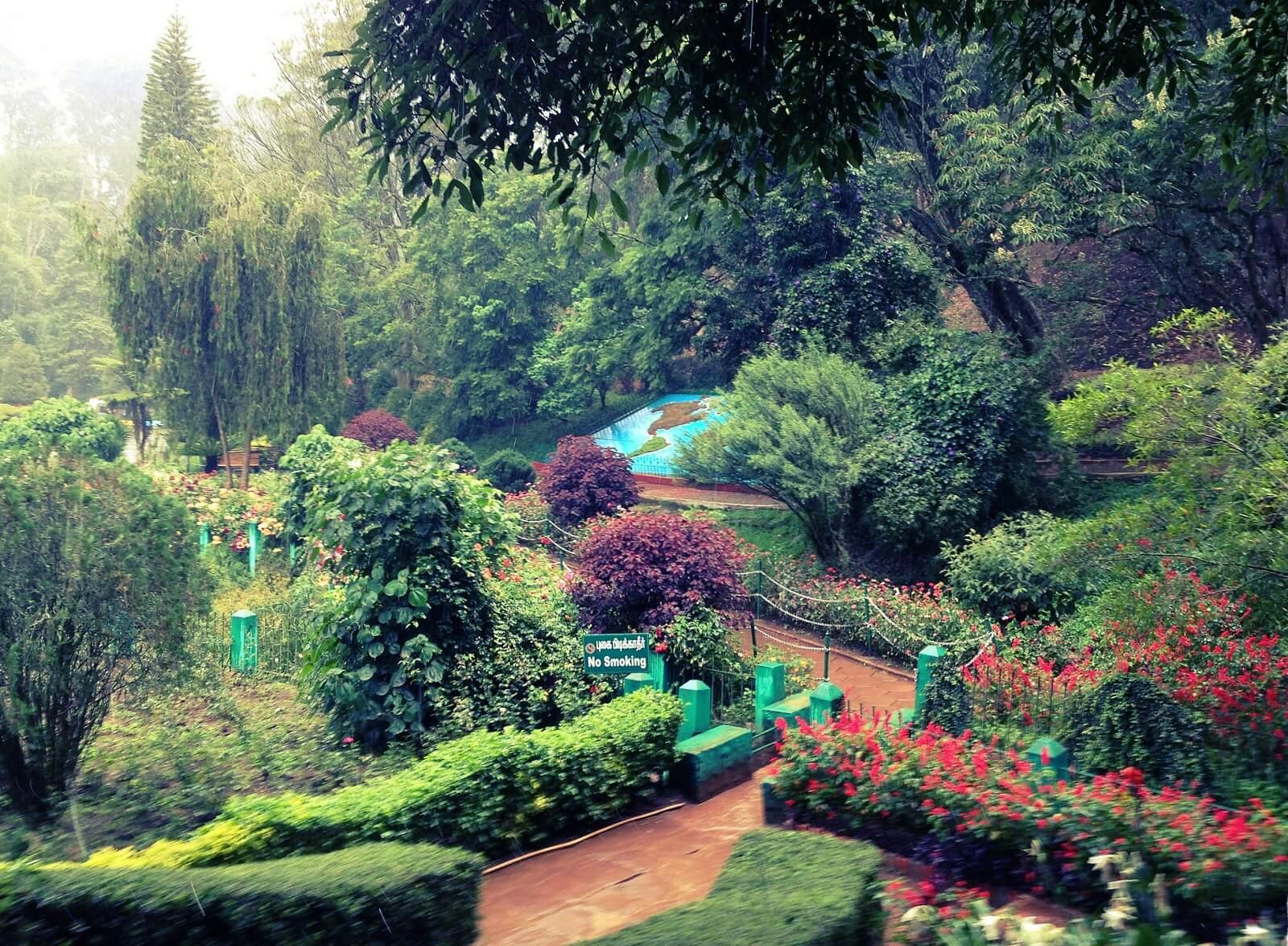 Sim's Park, Coonoor