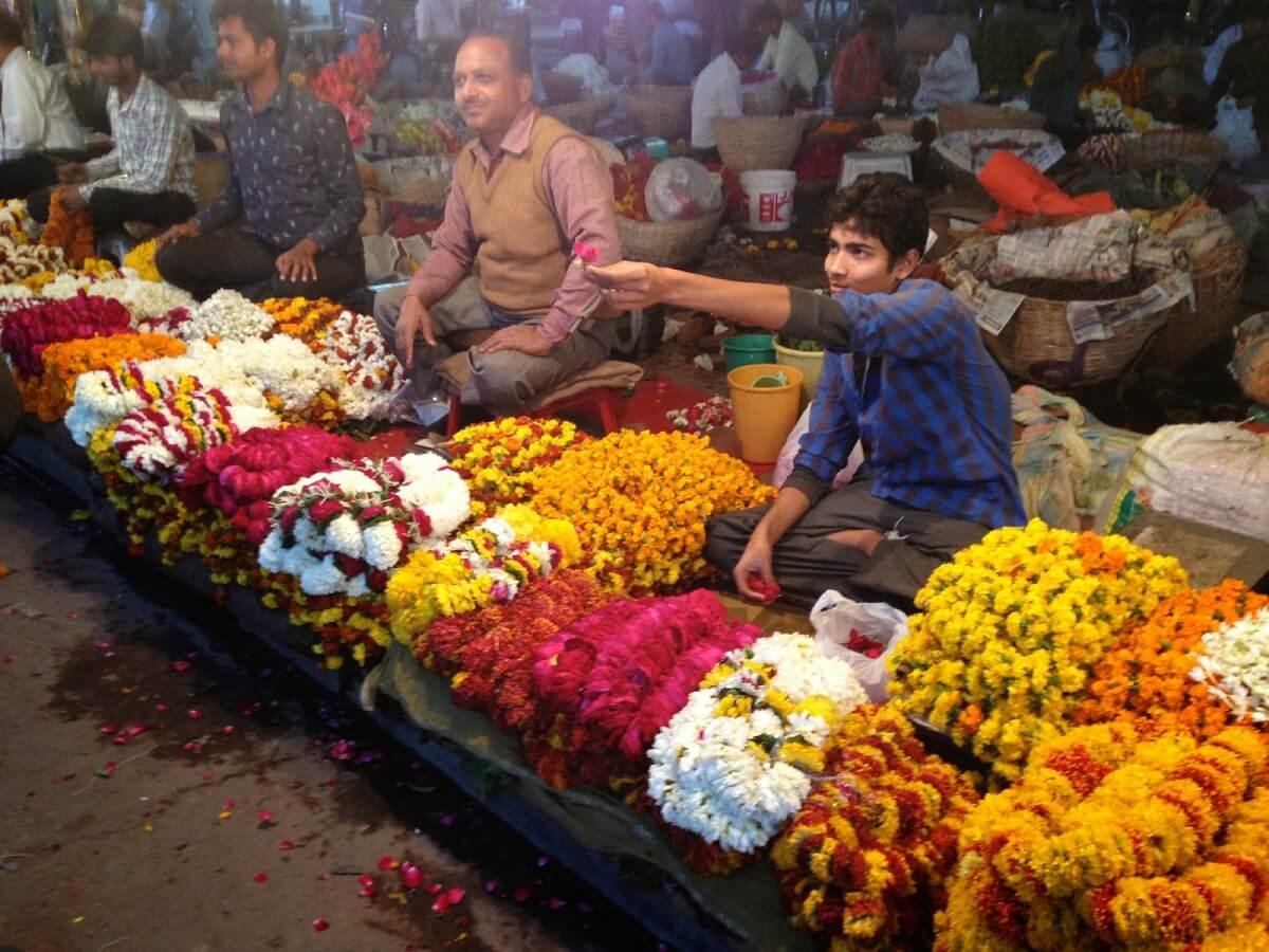 Flower Market, Jaipur