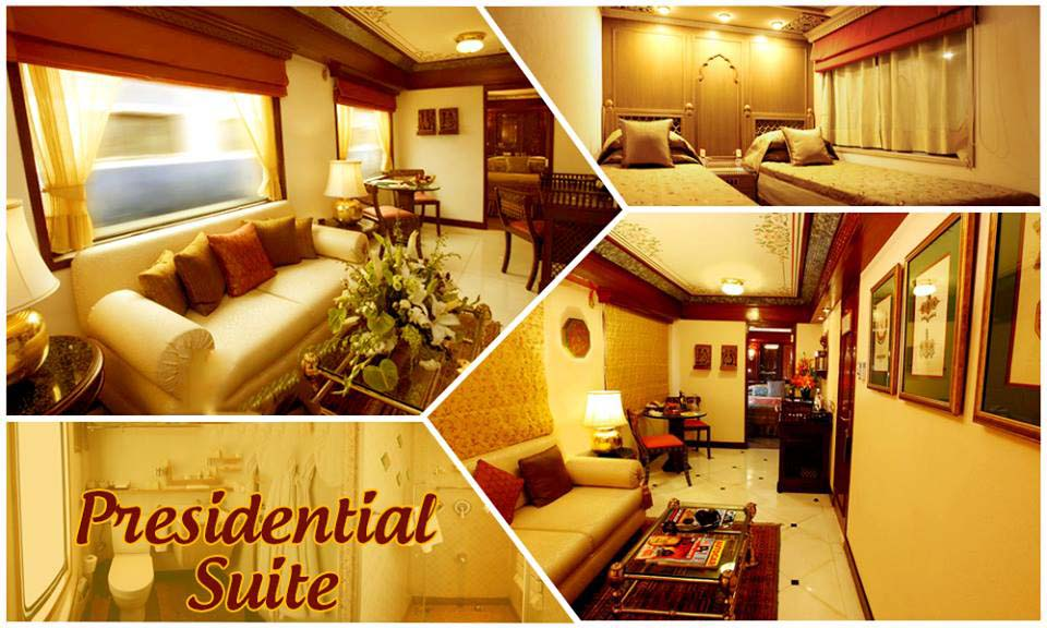 Presidential Suite of Maharajas Express