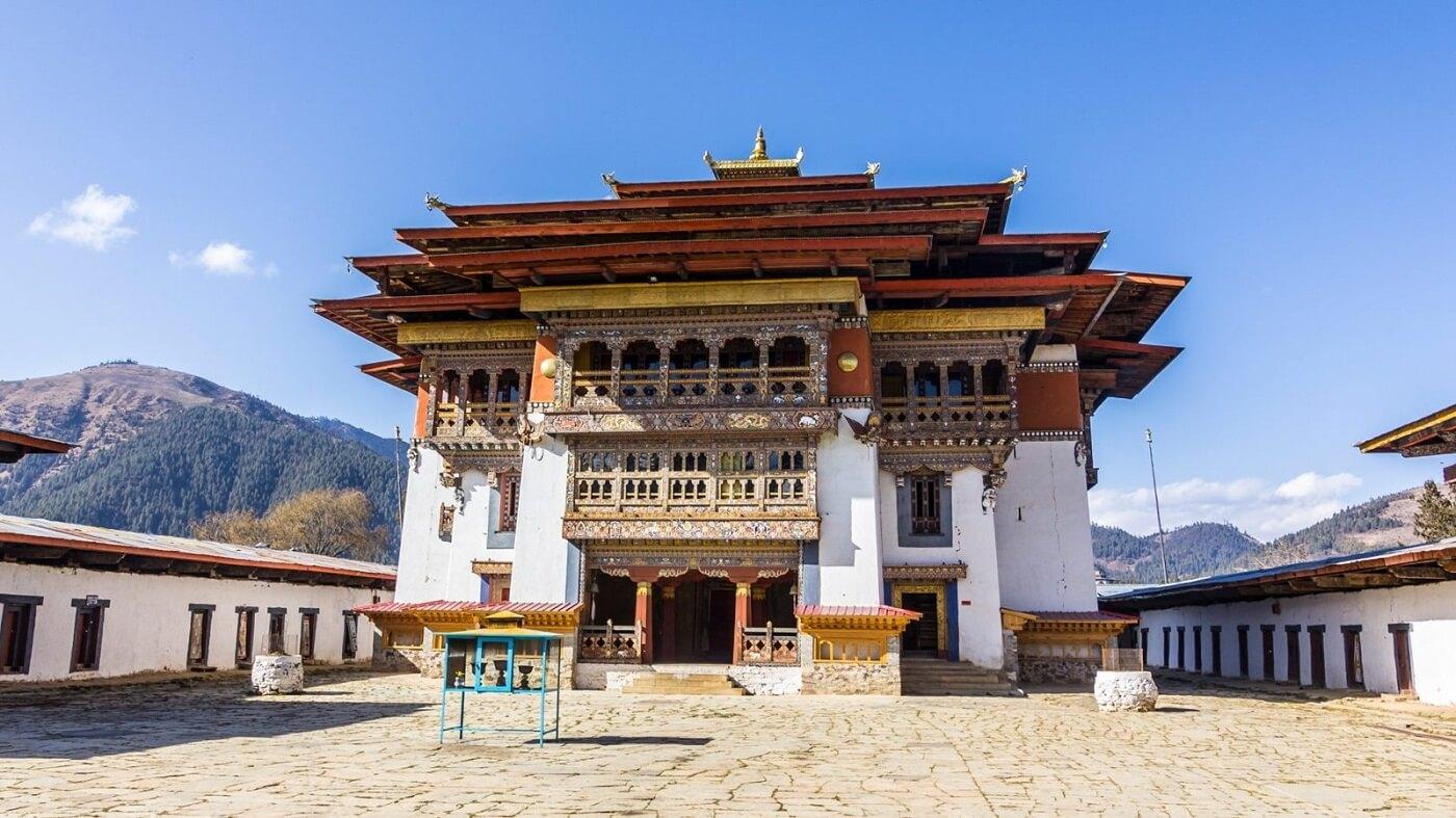 Gangtey Monastery, Bhuutan