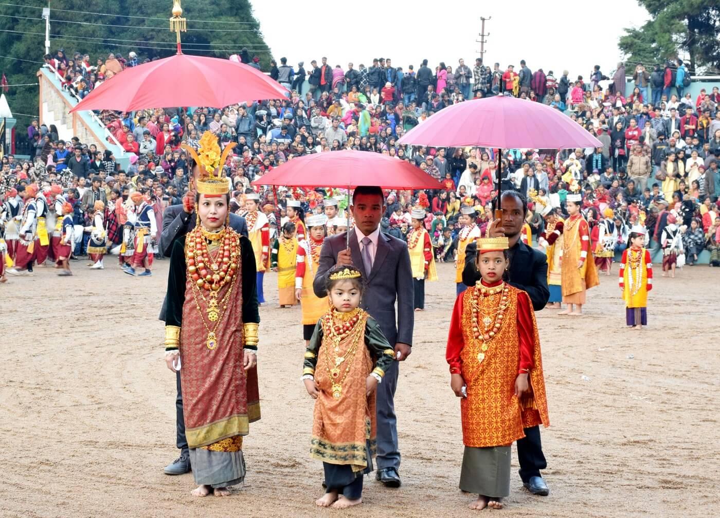 Ka Pomblang Nongkrem Festival, Shillong