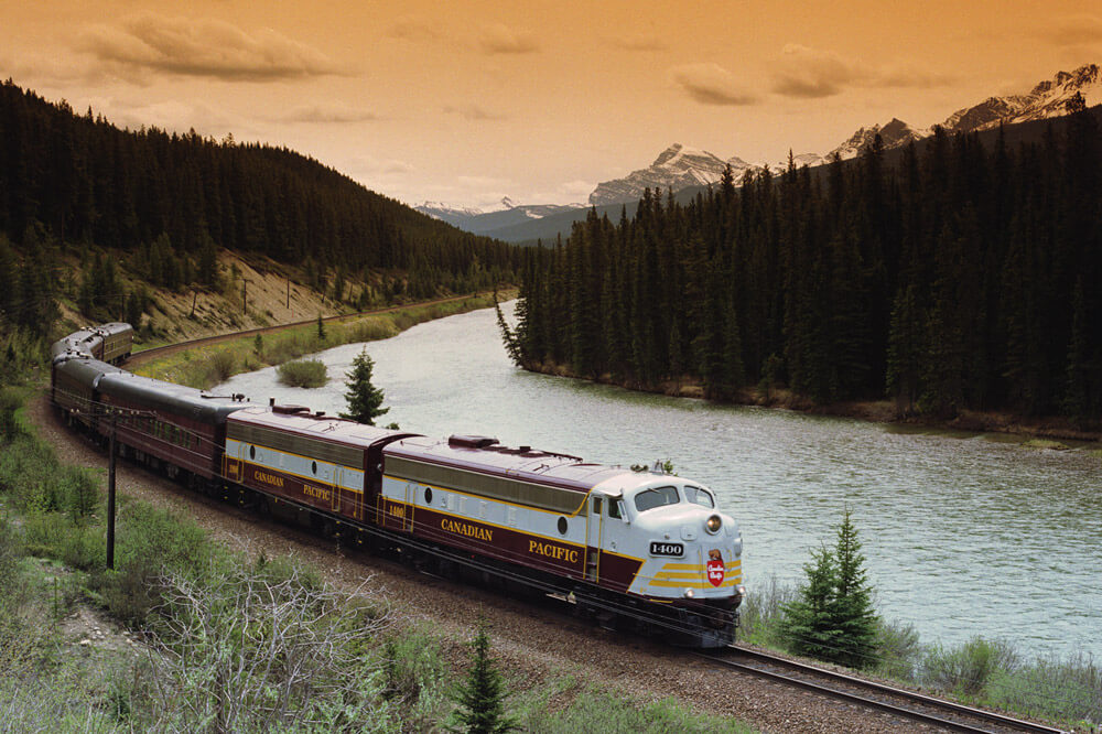 Royal Canadian Pacific Luxury train