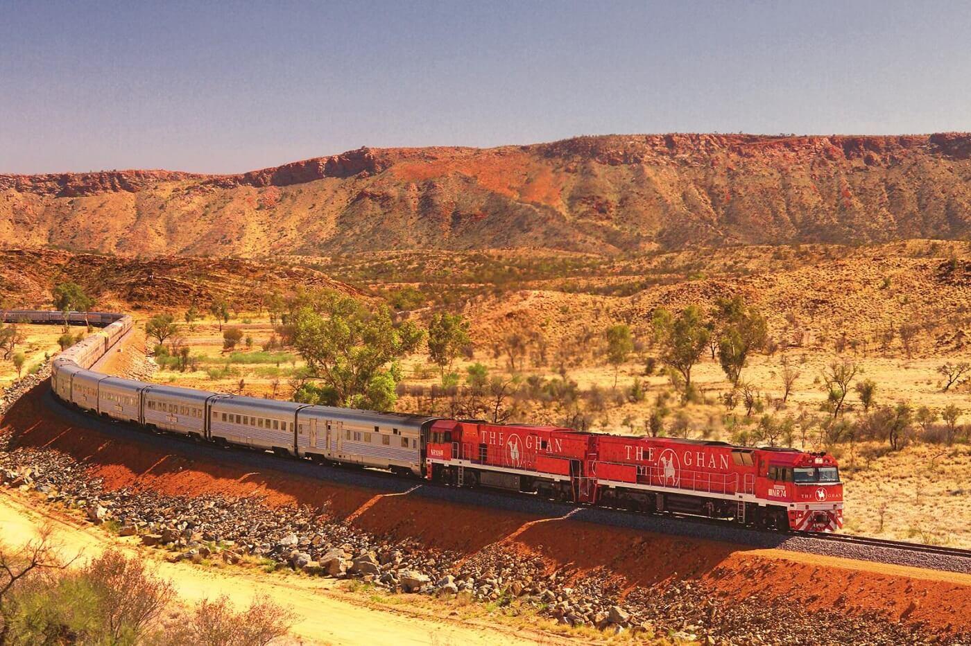 The Ghan, Australia