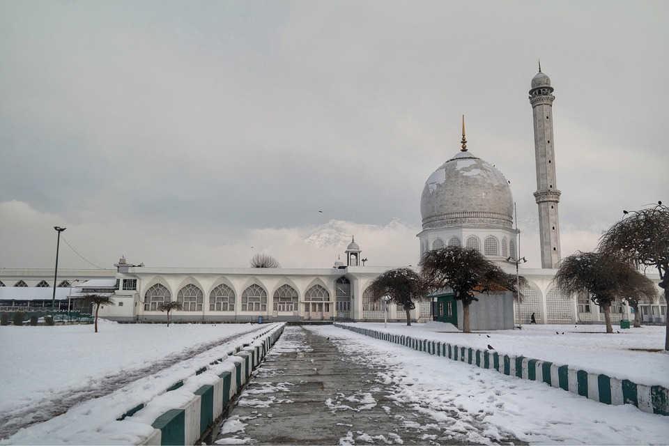 Hazratbal Masjid, Srinagar