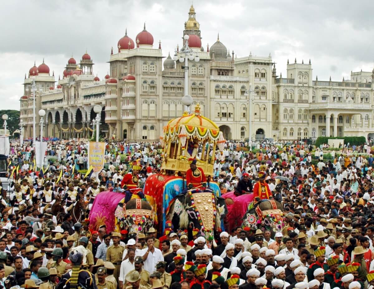 Jumboo Savari at Mysore Dasara