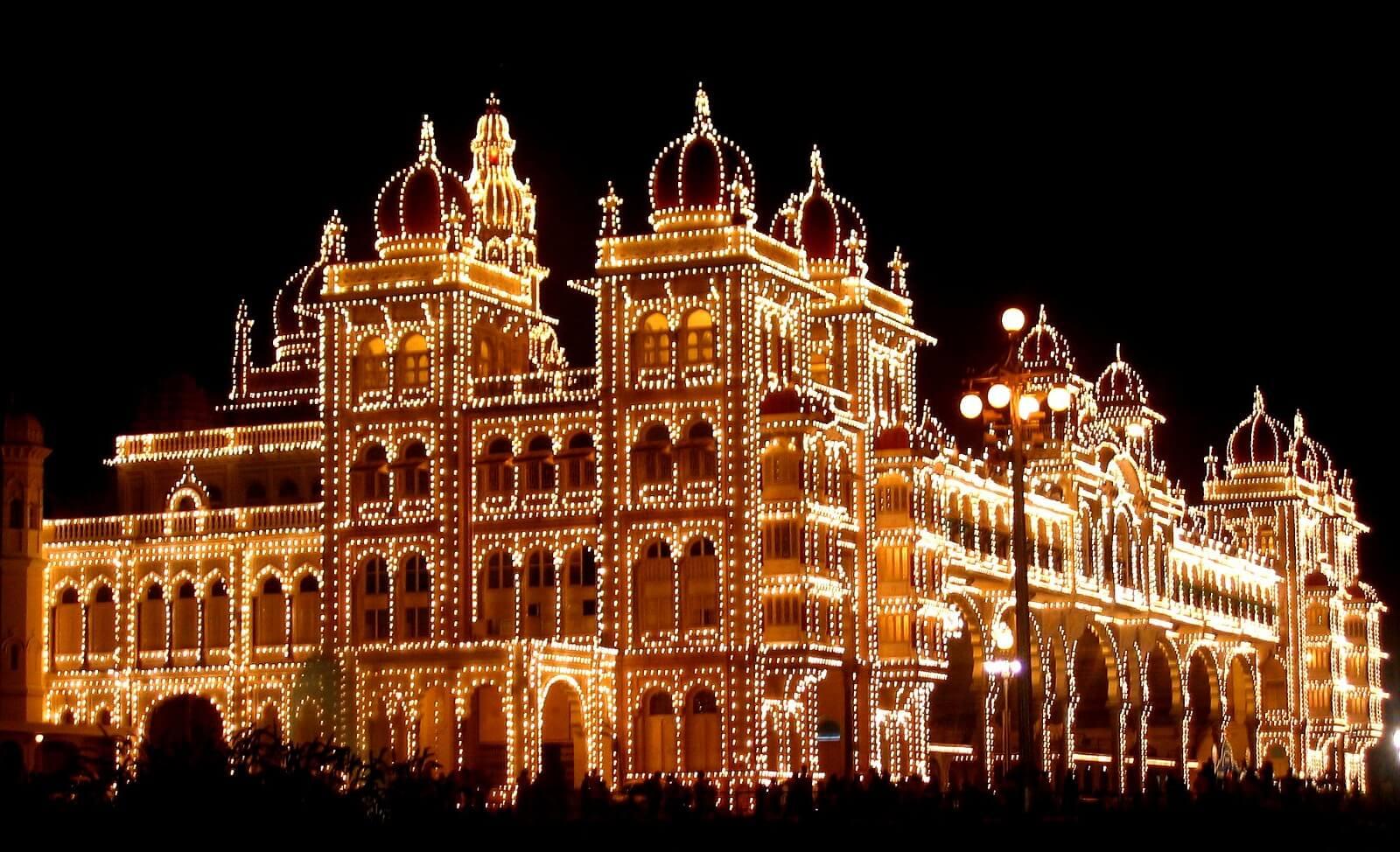 Mysore Dasara, Mysore Palace