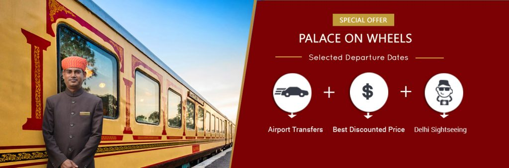 Palace On Wheels Offer Banner