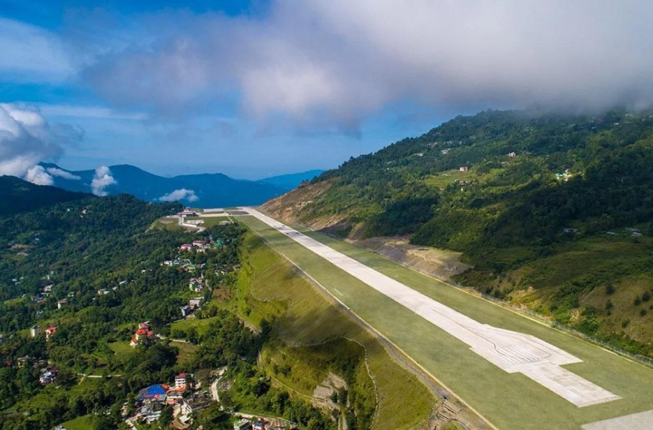 Sikkim Airport Track