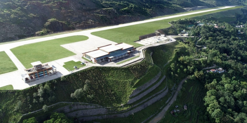 Sikkim's First Airport at Pakyong