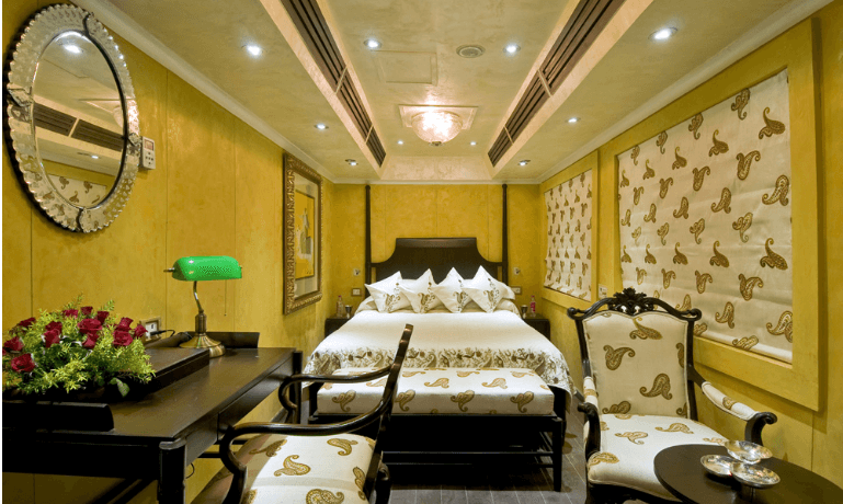 Super Deluxe Cabin of Palace on Wheels