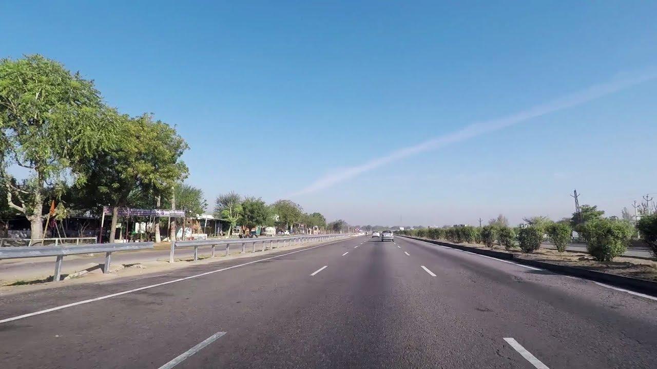 Delhi to Jaipur Road - NH48