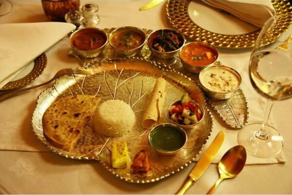 meal in maharajas express