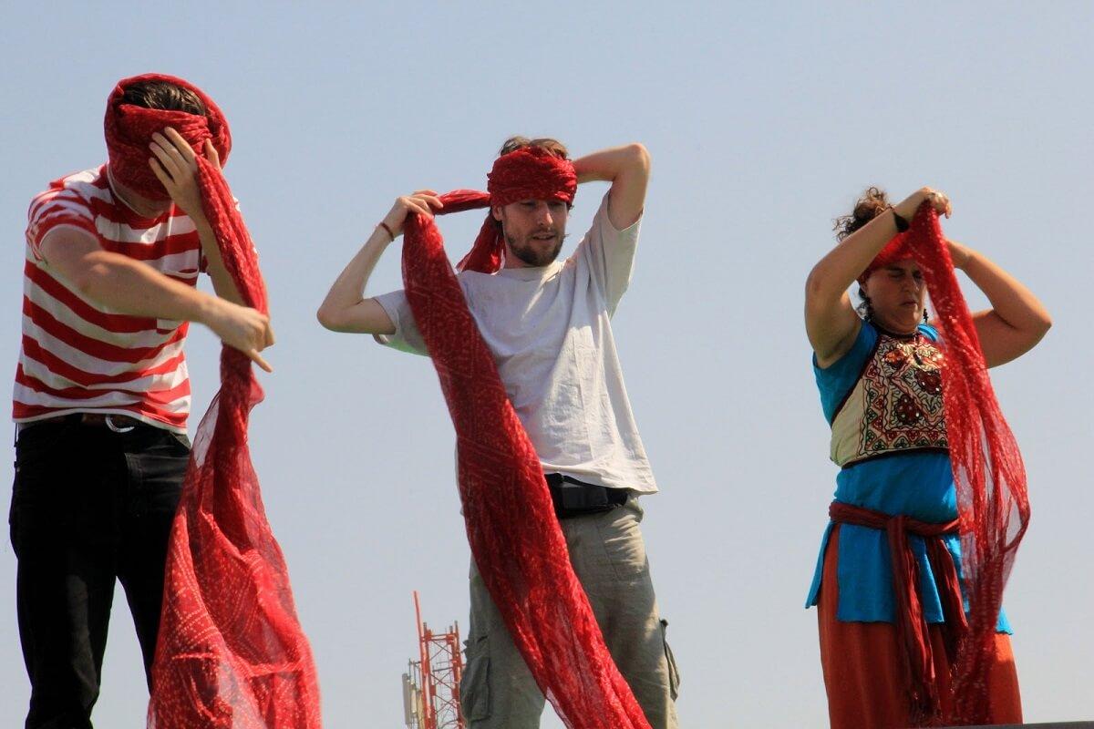Turban Tying Competition at Desert Festival Jaisalmer
