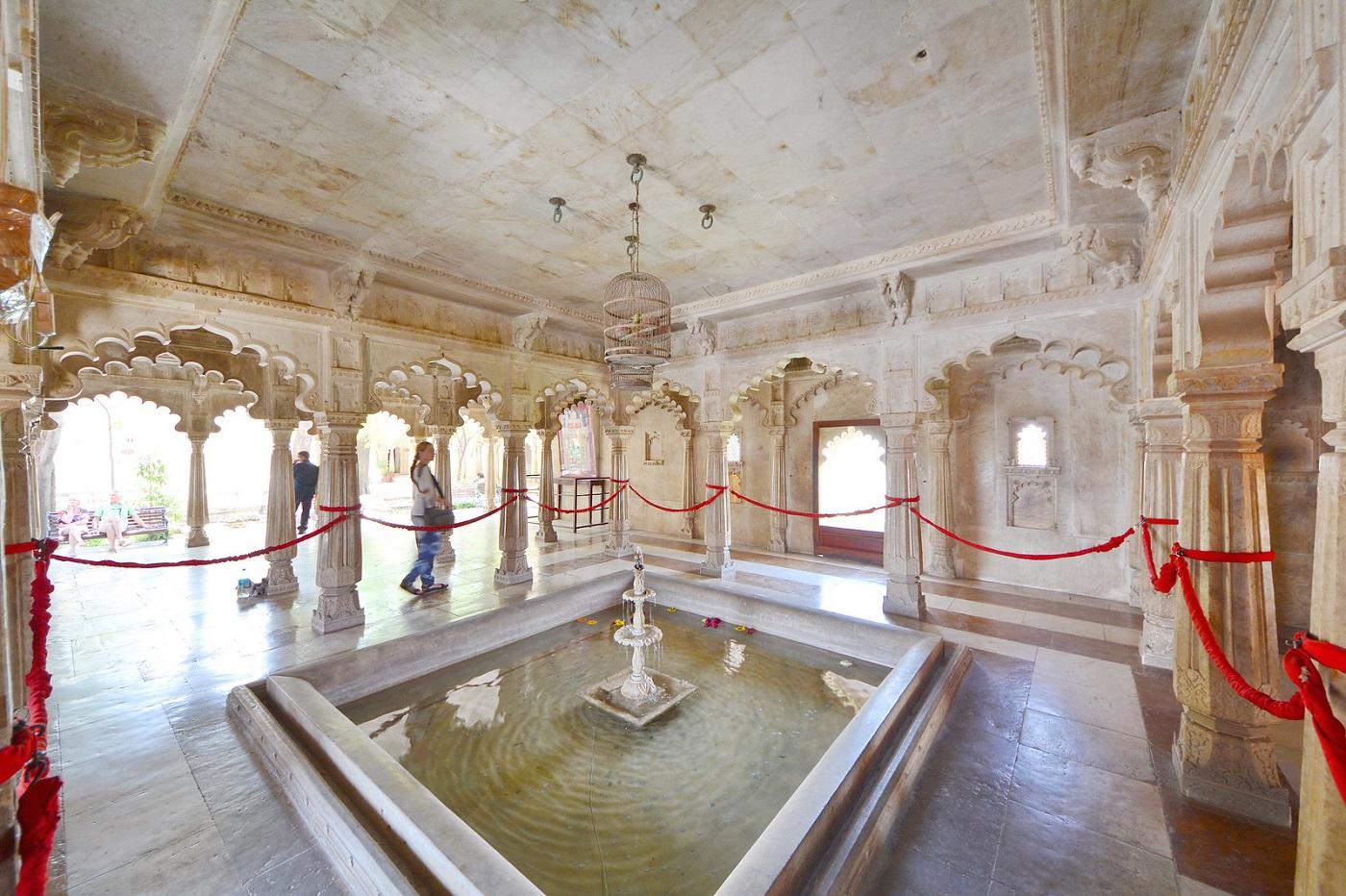Badi Mahal at Udaipur City Palace