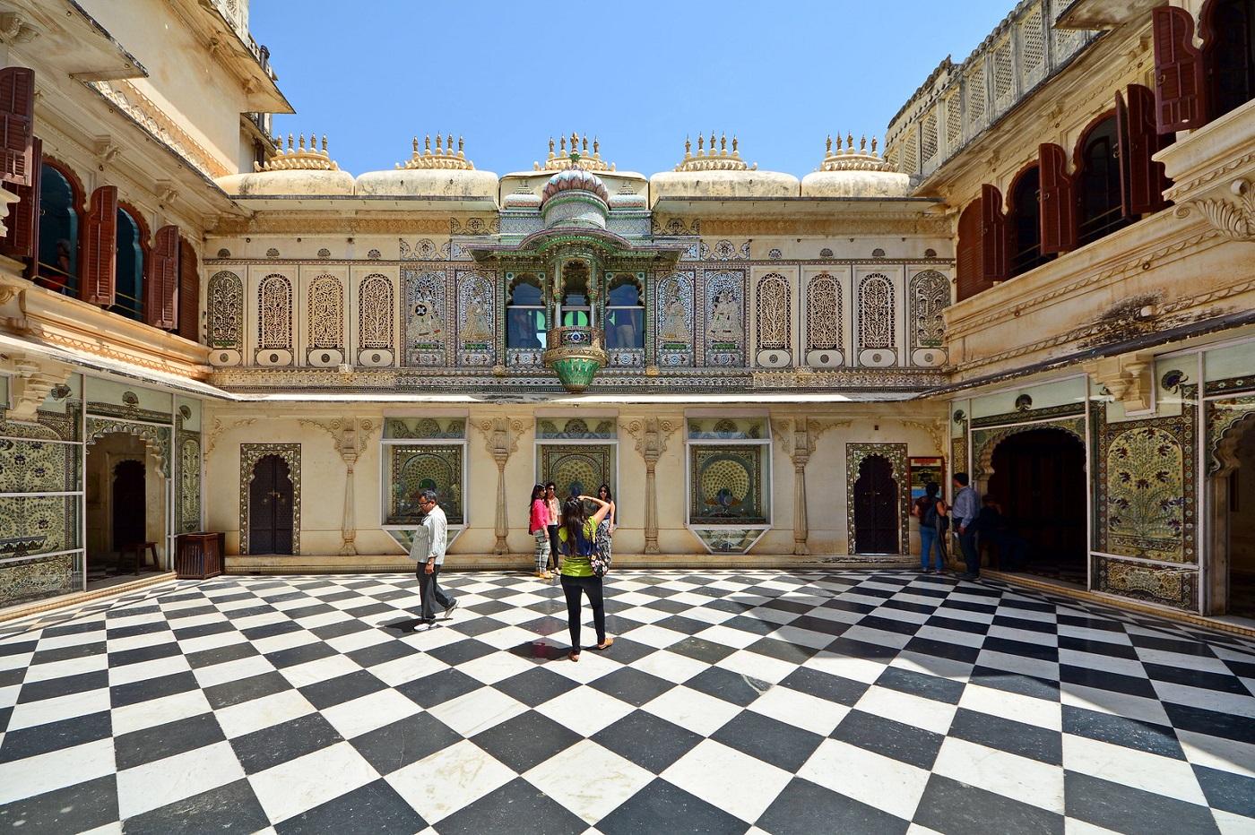 Chini Chitrashala at City Palace Udaipur