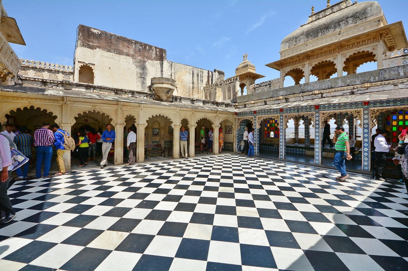 Choti Chitrashali at Udaipur City Palace
