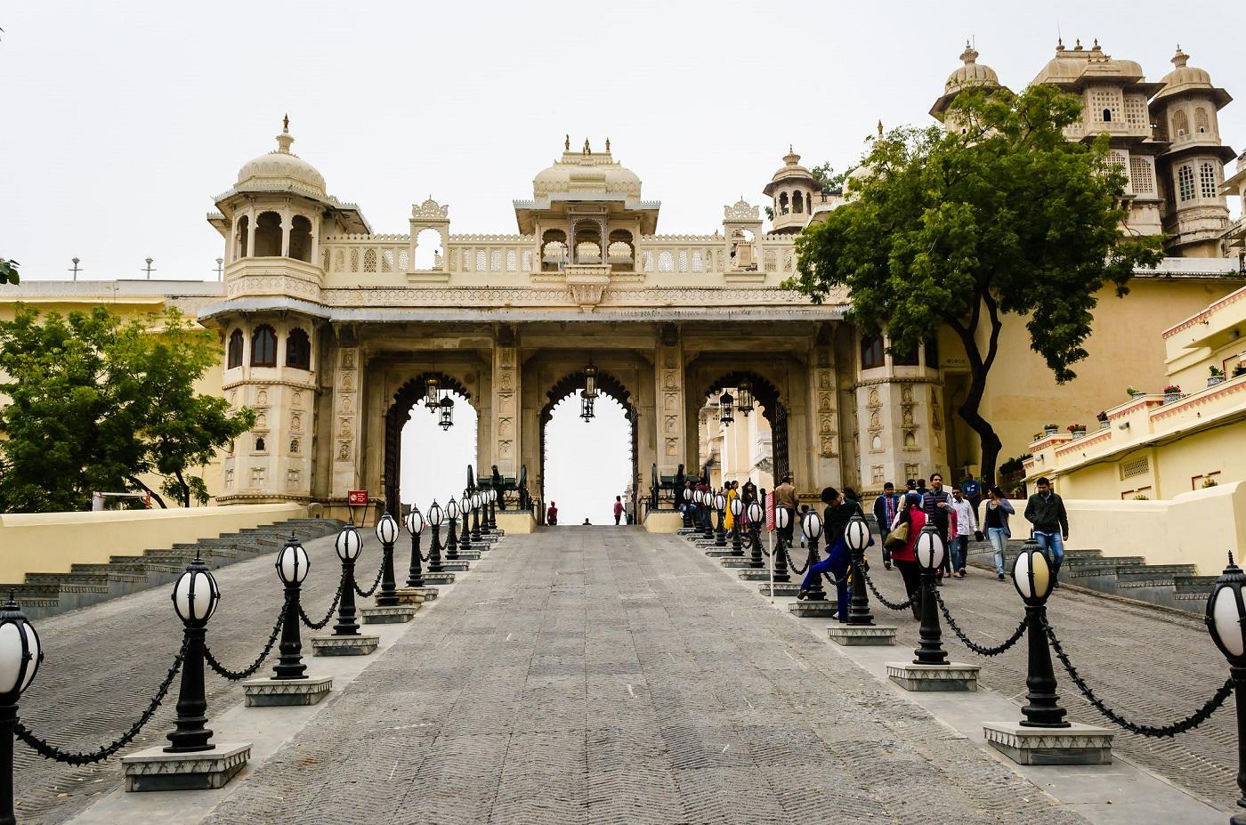 City Palace Entrance Gate - Tripolia Gate
