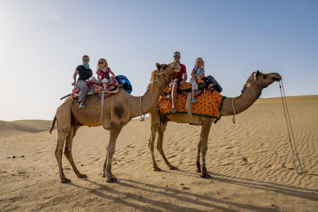 Jaisalmer Camel Safari with Kids