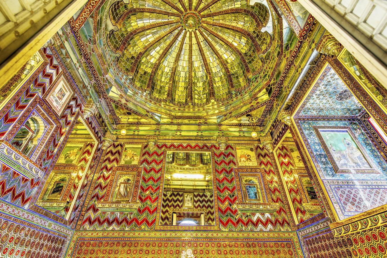 Kanch ki Burj or Mirror Palace at City Palace Udaipur