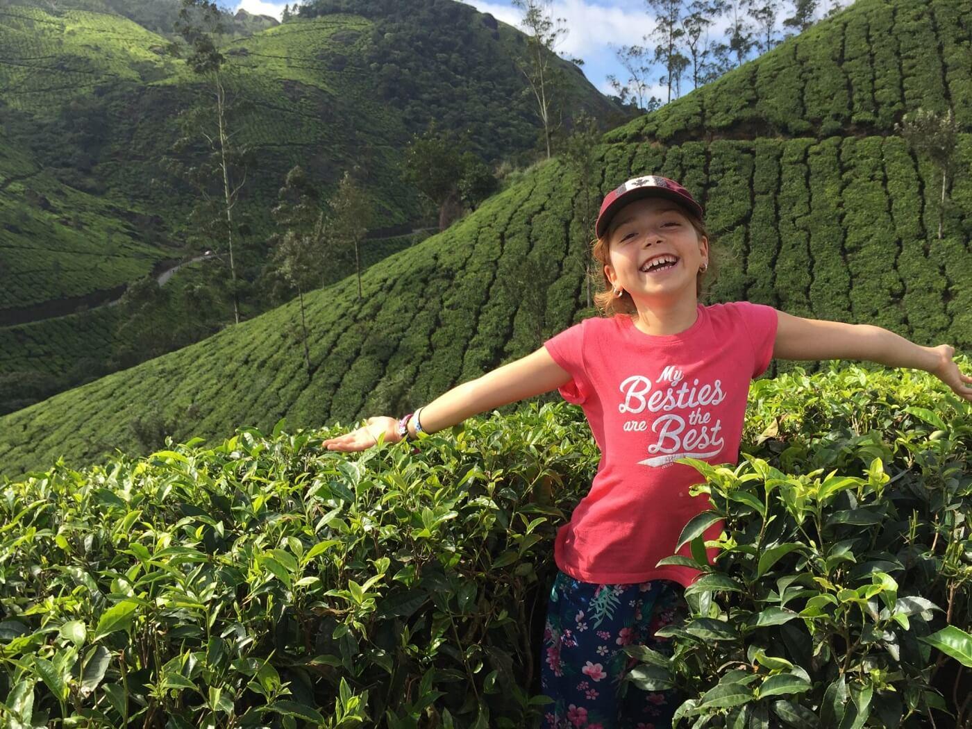 Munnar Tea Garden with Kids