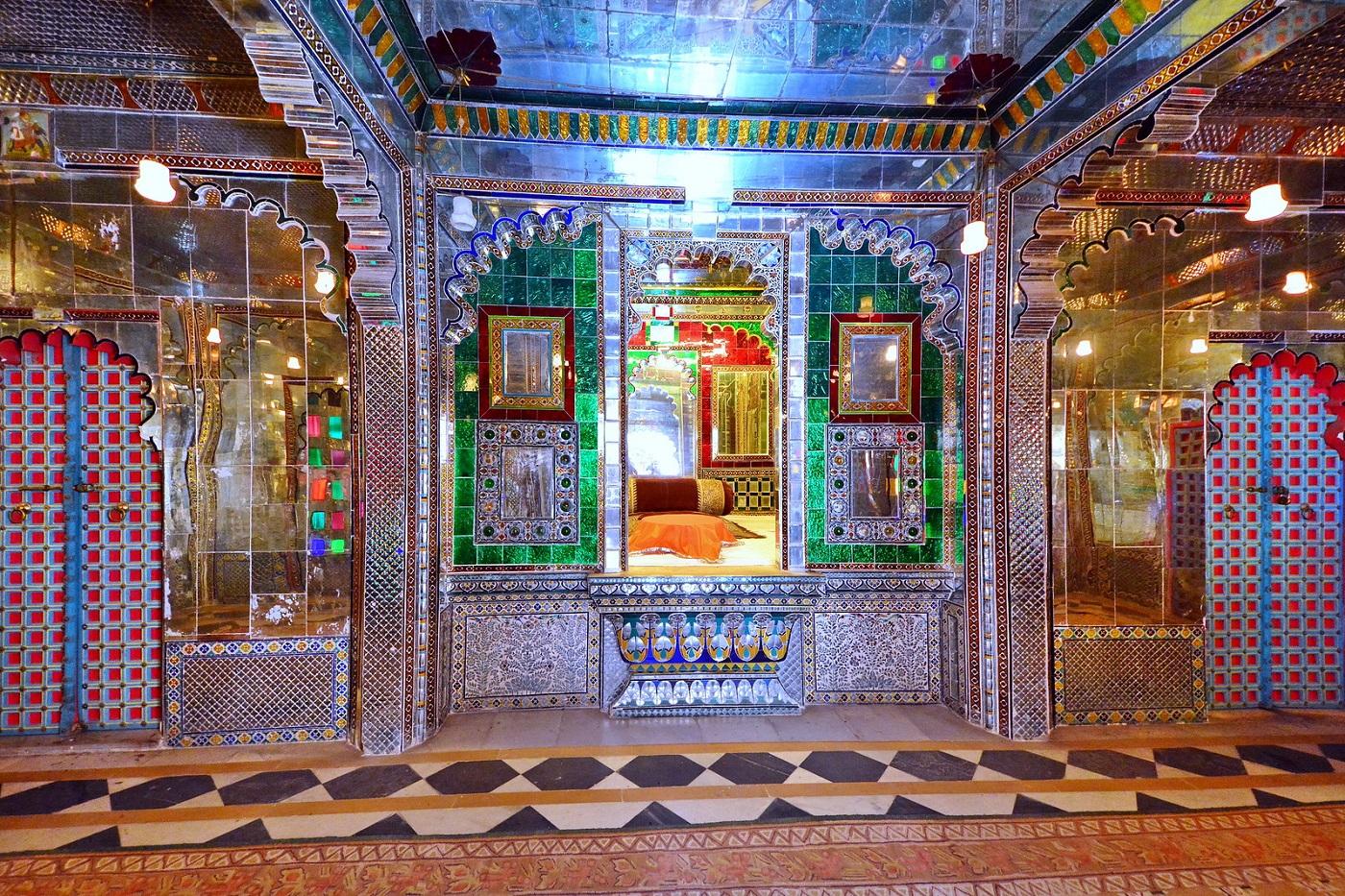 Sheesh Mahal at City Palace Udaipur
